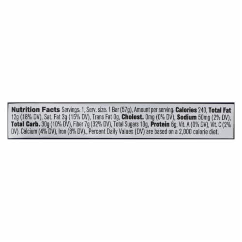 Core Foods - Bar Probiotic Blubry - Case of 8 - 2 OZ Perspective: back