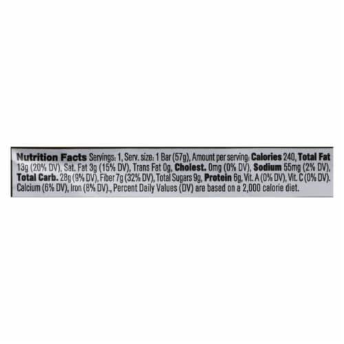 Core Foods - Bar Probiotic Lemon Poppy - Case of 8 - 2 OZ Perspective: back