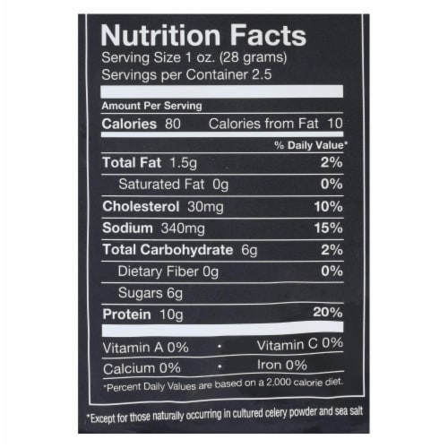 Ceres Peach Juices - Case of 3 - 11.2 fl oz. Perspective: back