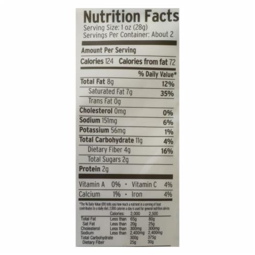 Forreal Foods - Coconut Jerky Gin Teriyaki Vegan - Case of 8 - 1.5 OZ Perspective: back
