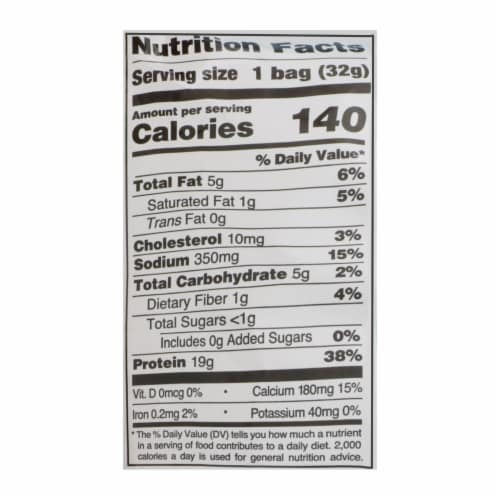 Quest Cheddar & Sour Cream Protein Chips  - Case of 8 - 1.1 OZ Perspective: back