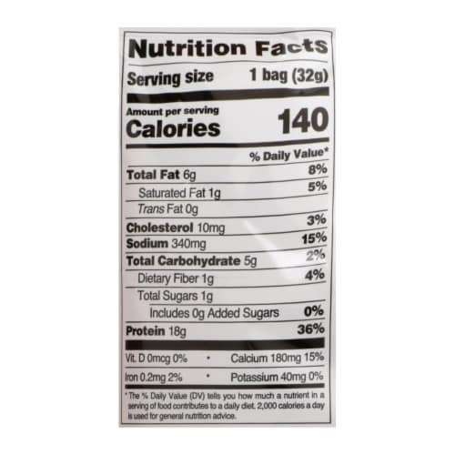 Quest® Nacho Cheese Tortilla Style Protein Chips, Nacho Cheese - Case of 8 - 1.1 OZ Perspective: back