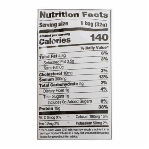 Quest Nutrition Ranch Tortilla Style Protein Chips, Ranch - Case of 8 - 1.1 OZ Perspective: back