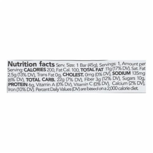 88 Acres - Seed Bars - Double Chocolate Mocha - Case of 9 - 1.6 oz. Perspective: back
