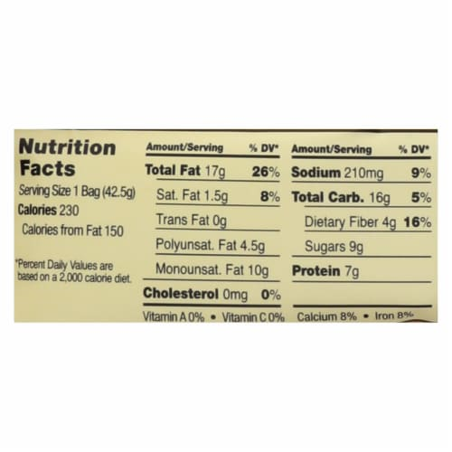 Sahale Snacks Glazed Nuts - Almonds with Cranberries Honey and Sea Salt - 1.5 oz - Case of 9 Perspective: back