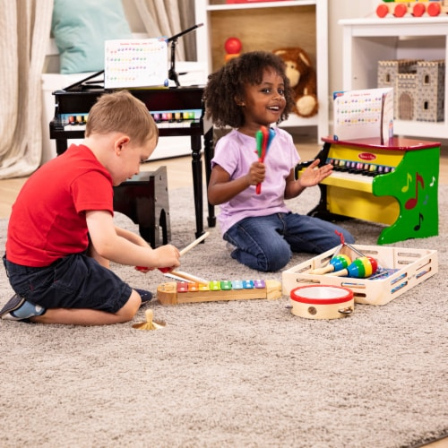 Melissa and Doug® Learn-to-Play Piano Perspective: bottom