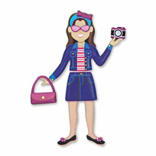 Melissa & Doug® Dress-Up Puffy Sticker Play Set Perspective: bottom