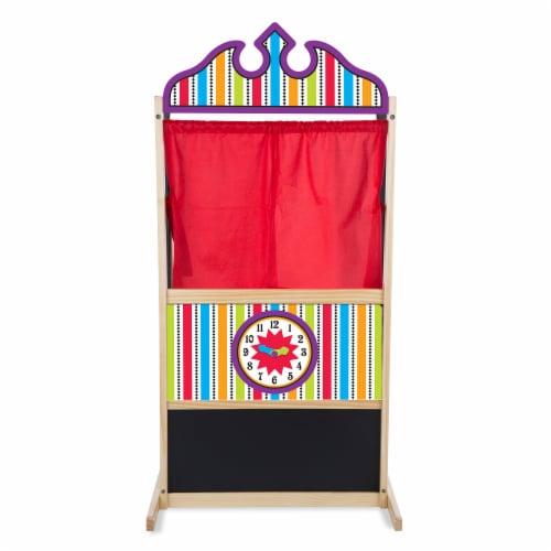 Melissa and Doug® Deluxe Puppet Theater Perspective: bottom