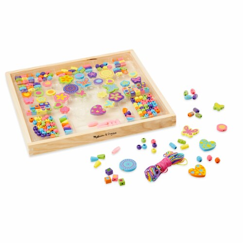 Melissa & Doug® Bead Bouquet Deluxe Wooden Bead Set Perspective: bottom