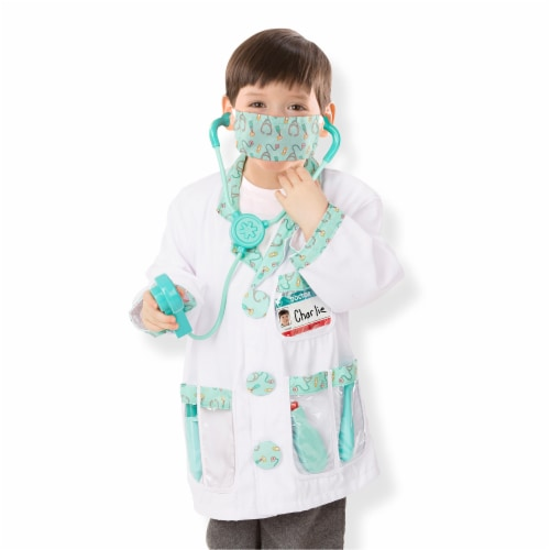 Melissa and Doug® Doctor Role Play Costume Set Perspective: bottom