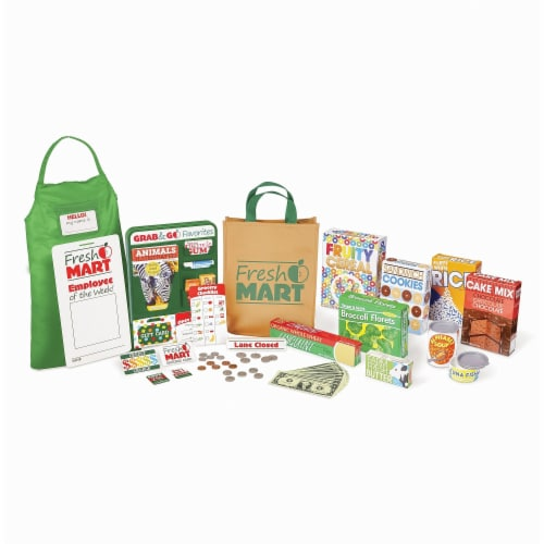 Melissa & Doug® Fresh Mart Grocery Store Companion Collection Perspective: bottom