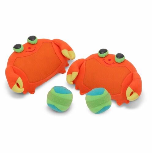 Melissa & Doug® Clicker Crab Toss & Grip Game Perspective: bottom