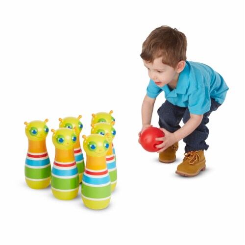 Melissa & Doug® Giddy Buggy Bowling Set Perspective: bottom