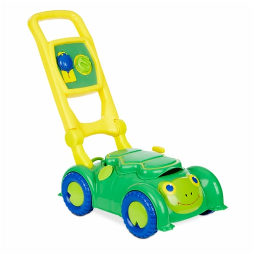 Melissa & Doug® Sunny Patch  Snappy Turle Mower - Green/Blue Perspective: bottom