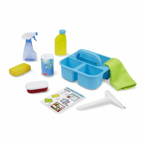 Melissa and Doug® Let's Play House! Spray Squirt and Squeegee Play Set Perspective: bottom