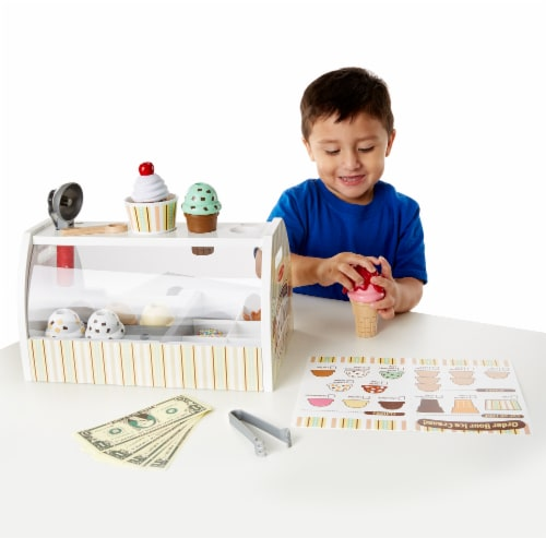 Melissa and Doug® Scoop and Serve Ice Cream Counter Perspective: bottom