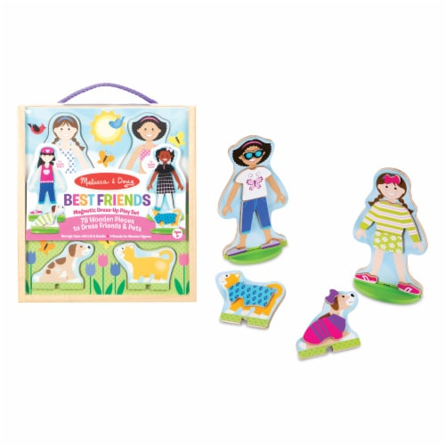 Melissa & Doug® Best Friends Magnetic Play Set Perspective: bottom