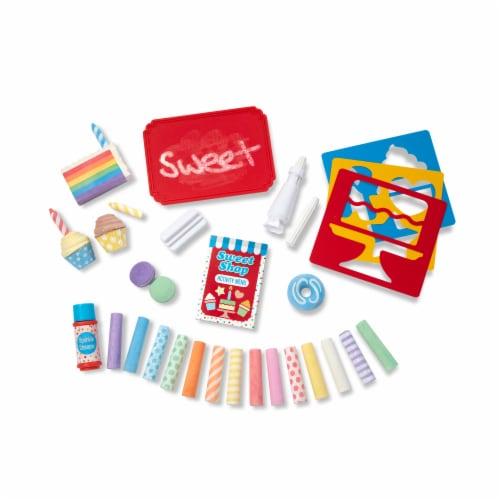 Melissa & Doug® Sweet Shop Chalk Set Perspective: bottom
