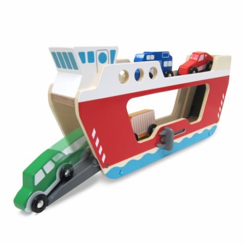 Melissa & Doug® Ferryboat Toy Set Perspective: bottom
