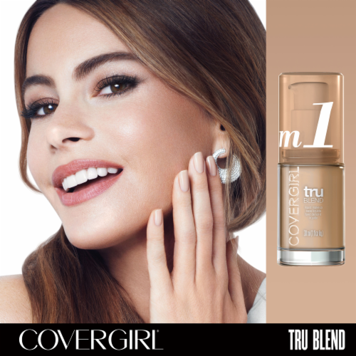 CoverGirl TruBlend Liquid Makeup - Natural Beige Perspective: bottom