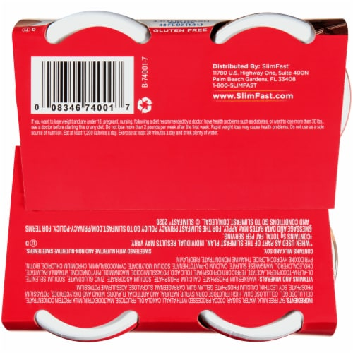 SlimFast Original Creamy Milk Chocolate Ready To Drink Meal Replacement Shakes Perspective: bottom
