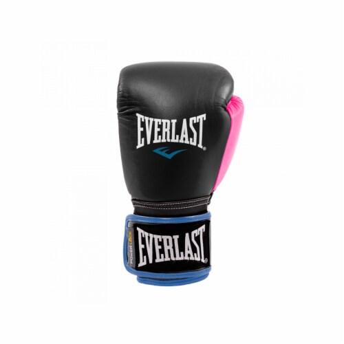 Everlast P00000745 Women's 12 Ounce Powerlock Hook & Loop Training Gloves, Pink Perspective: bottom
