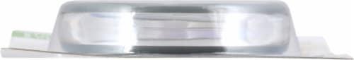 Spectrum Cora Closet Rod Hook - Gray/Clear Perspective: bottom