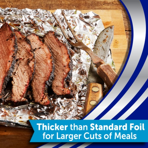 Reynolds Wrap Heavy Duty Aluminum Foil Perspective: bottom