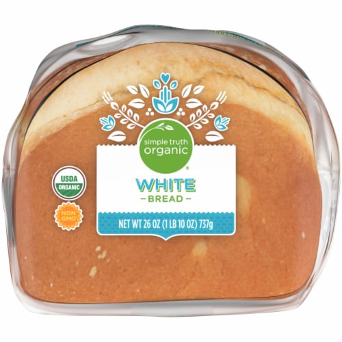 Simple Truth Organic® White Bread Perspective: bottom