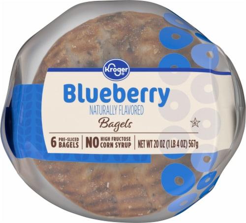 Kroger® Blueberry Bagels Perspective: bottom