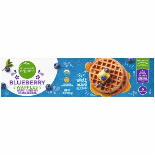 Simple Truth Organic™ Blueberry Waffles Perspective: bottom
