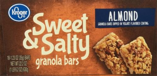 Kroger® Sweet & Salty Almond Granola Bars Perspective: bottom