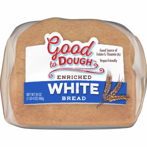 Good to Dough™ White Bread Perspective: bottom