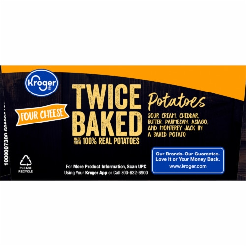Kroger® Four Cheese Twice Baked Potatoes Perspective: bottom