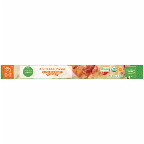 Simple Truth Organic® 4 Cheese Ultra-Thin Crust Pizza Perspective: bottom