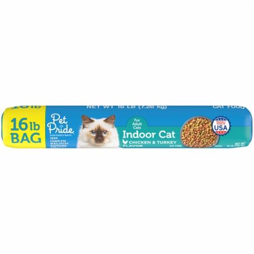 Pet Pride® Indoor Cat Chicken & Turkey Flavor Dry Cat Food Perspective: bottom