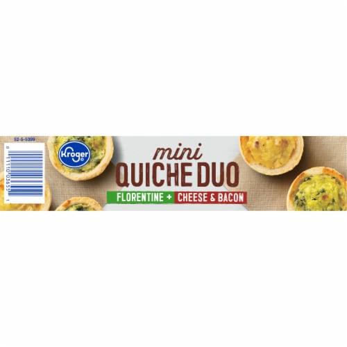 Kroger® Florentine Cheese & Bacon Mini Quiche Duo Perspective: bottom