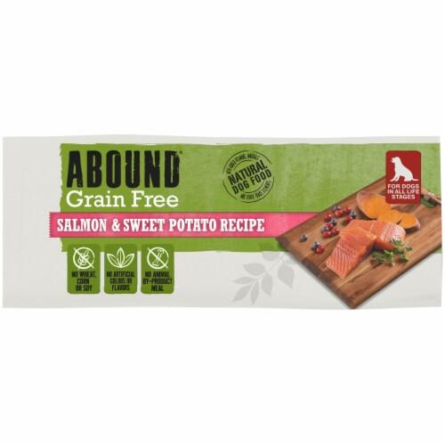 Abound® Grain Free Salmon & Sweet Potato Recipe Adult Dog Food Perspective: bottom