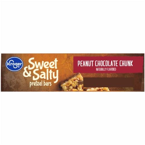 Kroger® Sweet & Salty Peanut Chocolate Chunk Pretzel Bars Perspective: bottom