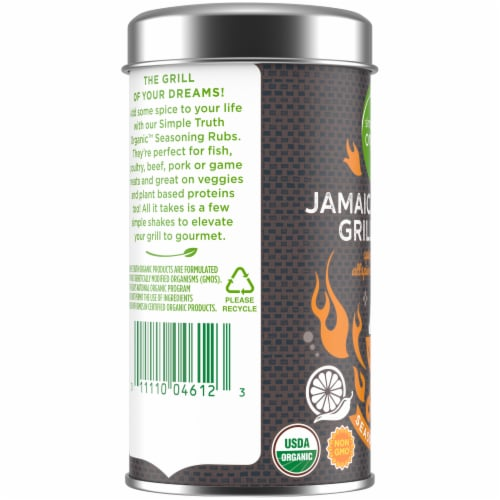 Simple Truth Organic™ Jamaican Style Grill Spice Seasoning Rub Perspective: bottom