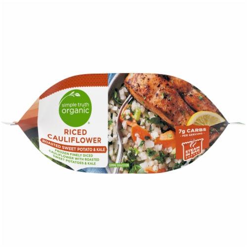 Simple Truth Organic® Roasted Sweet Potato & Kale Riced Cauliflower Perspective: bottom