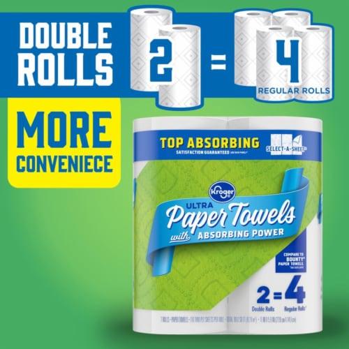 Kroger® Ultra Paper Towels Perspective: bottom