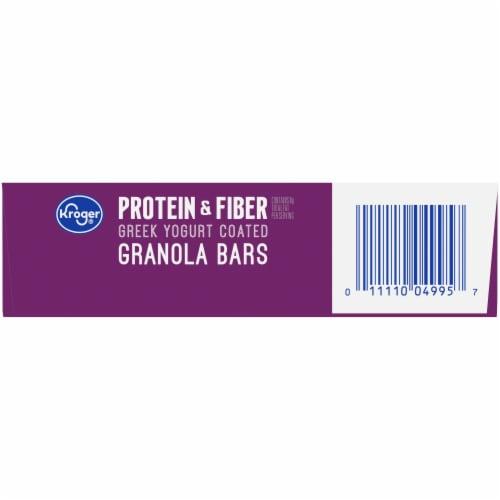 Kroger® Protein & Fiber Almond Cherry Greek Yogurt Coated Granola Bars (5 Pack) Perspective: bottom