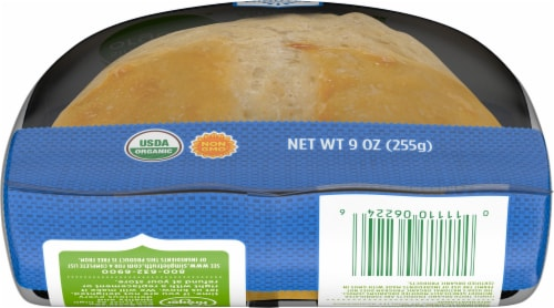 Simple Truth Organic® Ready to Bake Sourdough Boule Artisan Bread Perspective: bottom