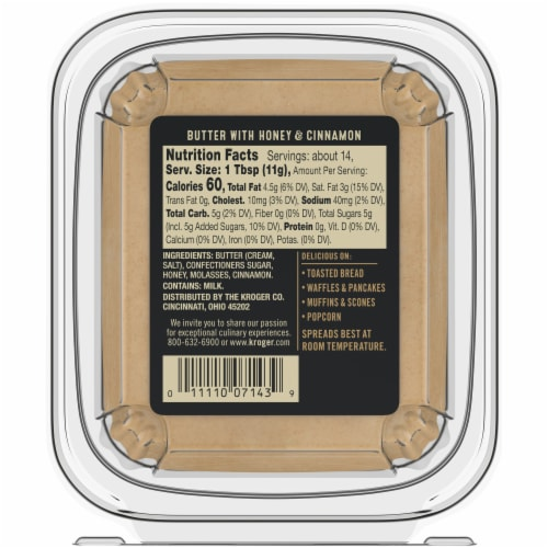 Private Selection™ Honey & Cinnamon Premium Butter Perspective: bottom