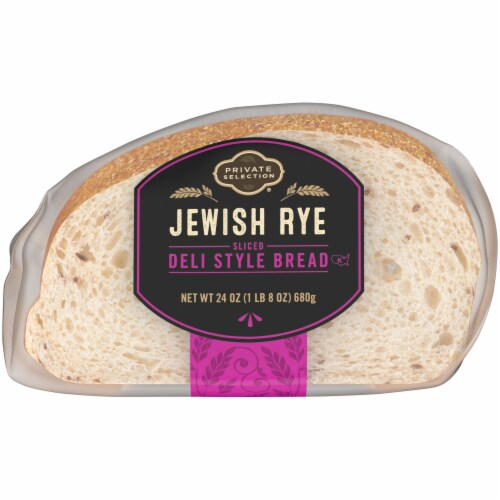 Private Selection® Jewish Rye Sliced Deli Style Bread Perspective: bottom