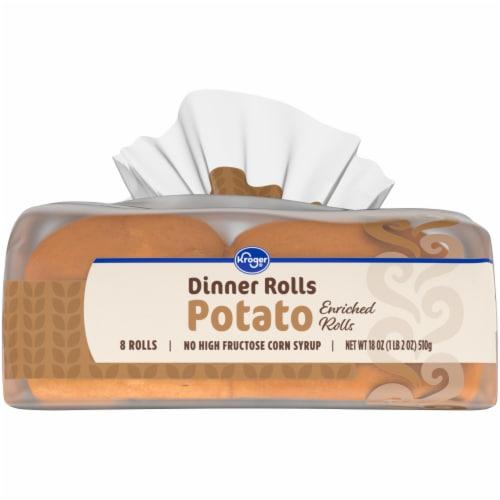 Kroger® Enriched Potato Dinner Rolls Perspective: bottom