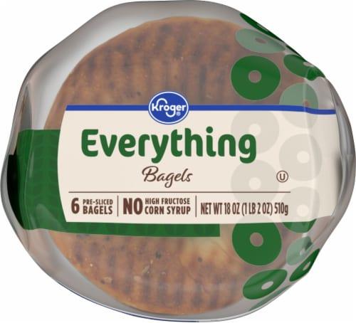 Kroger® Everything Pre-Sliced Bagels Perspective: bottom