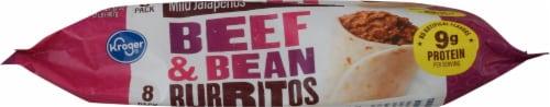 Kroger® Beef & Bean Burritos Perspective: bottom