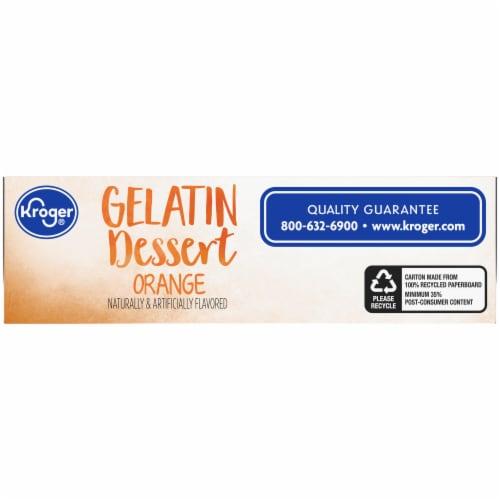 Kroger® Orange Gelatin Dessert Mix Perspective: bottom
